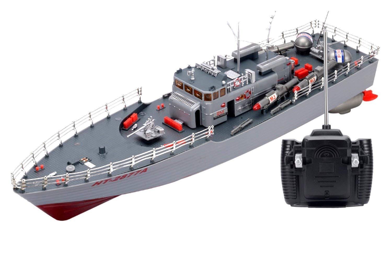 benvenuto per ordinare Rc Missile Guerraship Radio Remote Control Control Control Ht-2877 Rtr Ship Battleship Cruiser  scelta migliore