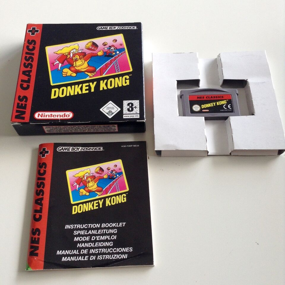 NES Classics 2: Donkey Kong, Gameboy Advance, anden genre