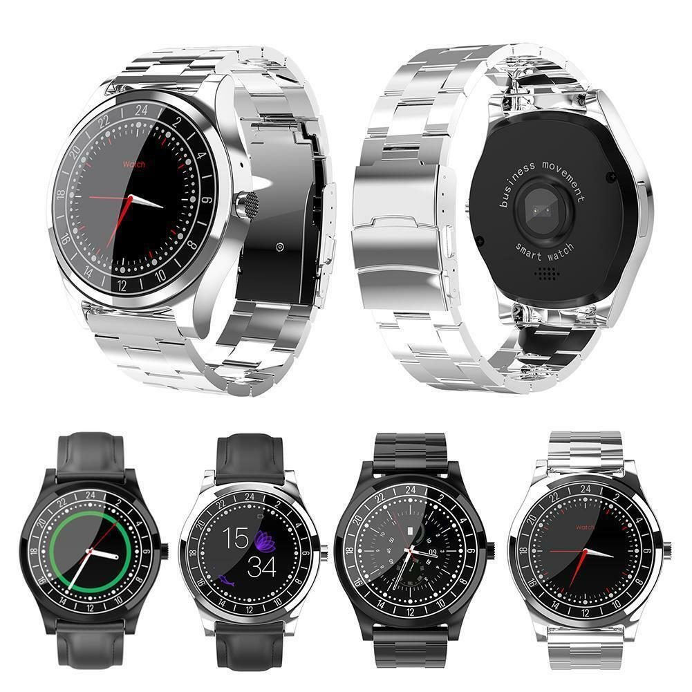 DT19 1.2  Smart Watch Heart Rate Blood Pressure Monitor Sports Fitness Bracelet