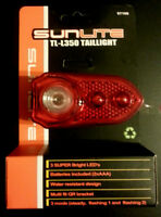 Sunlite Bicycle Light-tail Light- Tl L350-3 Led-super Bright- Batteries Included