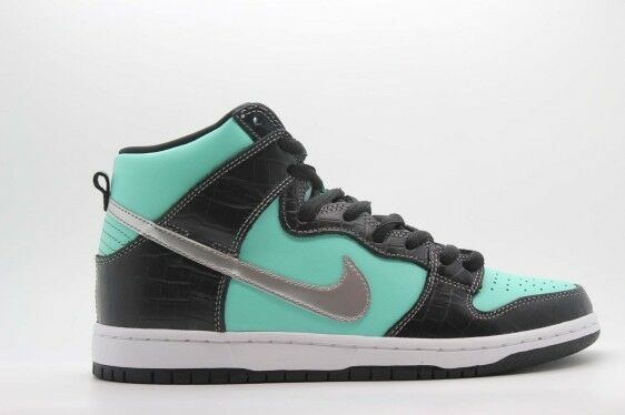 NIKE DUNK SB x DIAMOND CO  TIFF DUNK HIGH   SZ 10 [653599-400]  300 SHIPPED