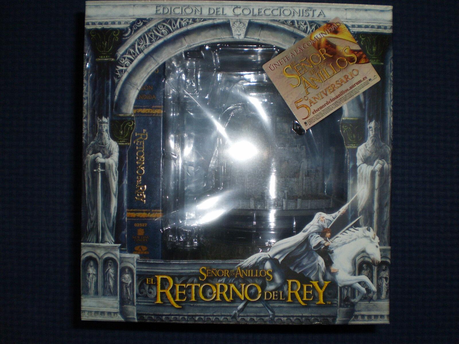 EL SEÑOR DE LOS ANILLOS EL RETORNO DEL REY DVD EDICION COLECCIONISTA...