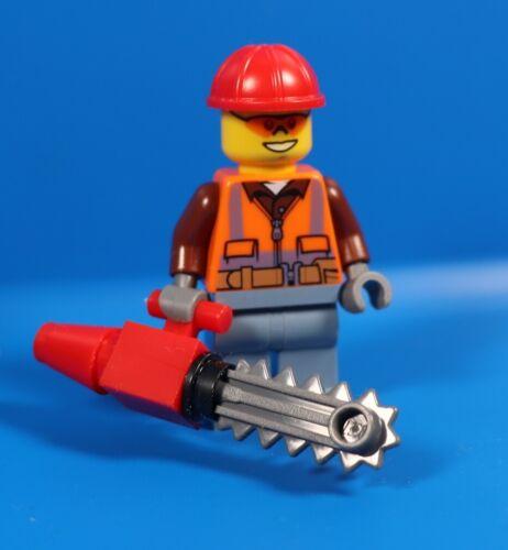 LEGO ® City 951912 personnage bûcheron Henri OTTERSTEN avec tronc