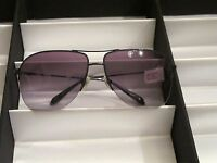 Sama Sunglasses, Preston Sun, Denim, Size 64, $477