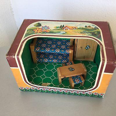 Mobili Casa Delle Bambole #Raffetto Made In Italy Wood Bedroom MINI SIZE   eBay