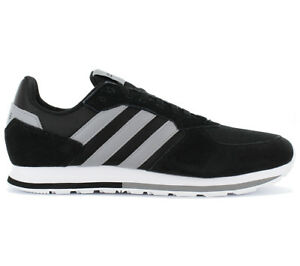 Adidas Men s Sneakers 8K M BLACK Shoes Casual Trainers Retro Zx New ... 3df70a324