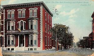 Camden New Jersey Elks Hall Broadway & Federal Streets Antique Postcard (J37560)