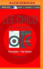 Jack Reacher: Lee Child - Persuader - The Enemy (2 on 1 Audiobook mp3) NEW!