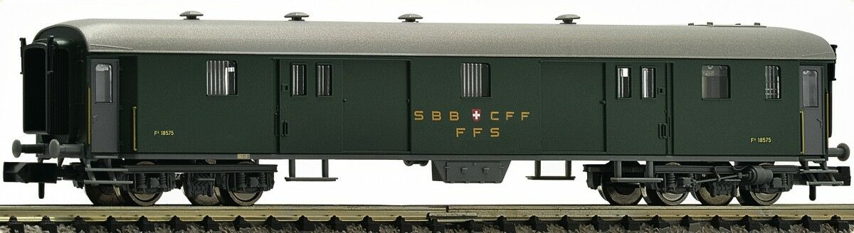 FLEISCHMANN 813003 SBB Gepäckwagen Bauart D Ep III N 1 160 - NEU
