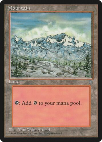A Mountain 5th Edition NM Basic Land MAGIC THE GATHERING MTG CARD ABUGames