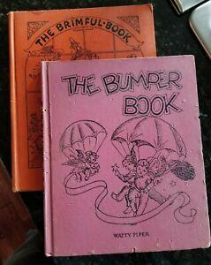 The-Bumper-Book-1946-22nd-Edition-amp-The-Brimful-Book-1955-39th-Edition-Piper