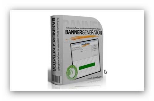 Professioneller Banner Generator