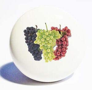 bundle grapes home decor ceramic knob drawer cabinet pull