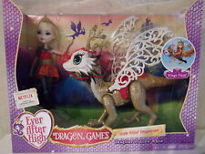 Ever After High-Apple White dragonrider (Dragon Games) - nuevo & OVP