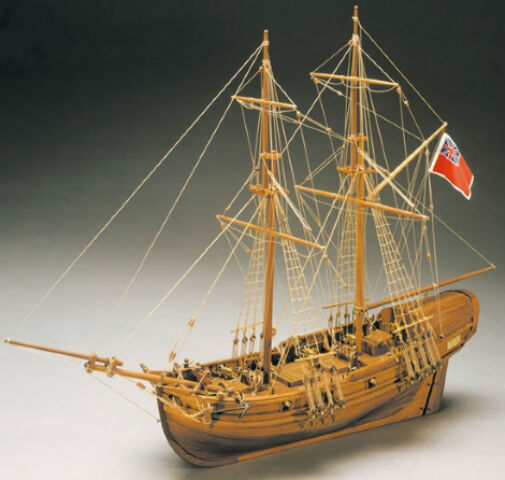 Exquisitely detailed, brand new wooden ship kit by Mantua  the  Shine