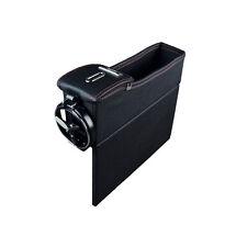 Car Seat Catcher Gap Filler Coin Collector Cup Holder Storage Box Passenger Side