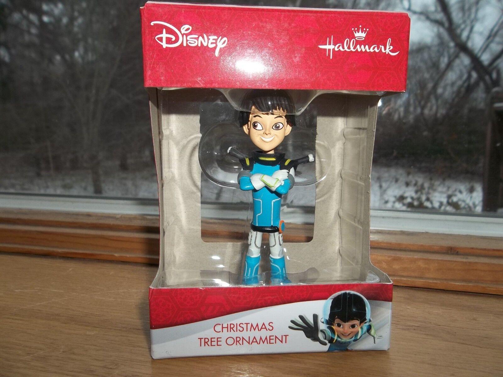 Disney Junior Hallmark Miles from Tomorrowland Christmas Tree Ornament NIB