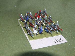 15mm Medievale/Generic-Cavalieri 18 CAVALLERIA-CAV (A1136)