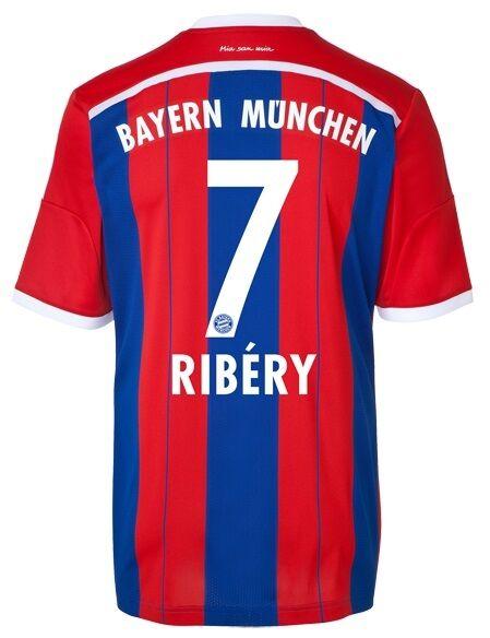 Trikot Adidas FC Bayern 2014-2015 Home - Franck Ribery  FCB