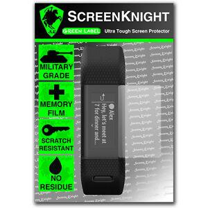 Screenknight-Garmin-Vivosmart-proteggi-schermo-Plus-HR-Invisibile-Scudo-Militare