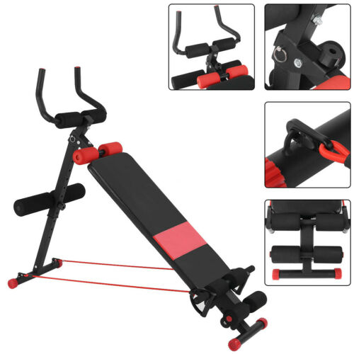 Details about  /Ab Abdominal Exercise Machine Cruncher Trainer Body Shaper Fitness Gym Sports