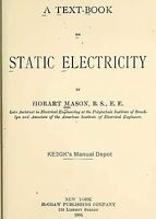 Text Book On Static Electricity 1904 Cdrom Pdf