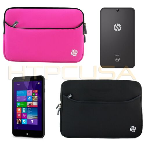 "KOZMICC Neoprene Carrying Sleeve Pouch Case Cover for HP Stream 7/"" Inch Tablet"