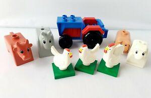 Lego-duplo-animaux-ferme-Bundle-et-tracteur