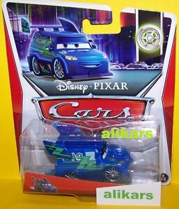 DJ-WITH-FLAMES-Giocattolo-Mattel-Disney-1-55-Cars-Auto-Modellini-Metallo-new-toy