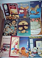 Lot 10 Tole Decorative painting books Carolyn Altona Jo Sonja Elaine Thompson ++