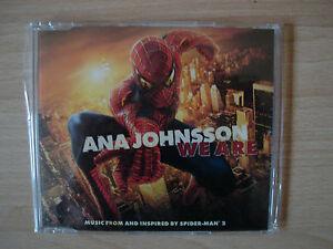 ANA-JOHNSSON-WE-ARE-Maxi-CD-Single-Soundtrack-Spider-Man-2-Spiderman