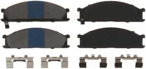 Disc Brake Pad Set-Premium Semi-Metallic Disc Brake Pad Front Bendix MKD333IQ