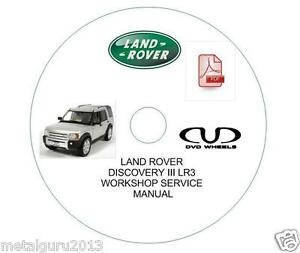 land rover discovery 3 workshop manual pdf