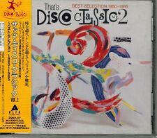 DISCO CLASSICS 2 LIME DEE D JACKSON TRAIN ANGIE GOLD COWLEY ITALO CD JAPAN OBI