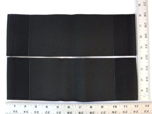 Set 4X10 Inch Replacement Straps Body Armor Elastic BulletProof Vest Hook /& Loop