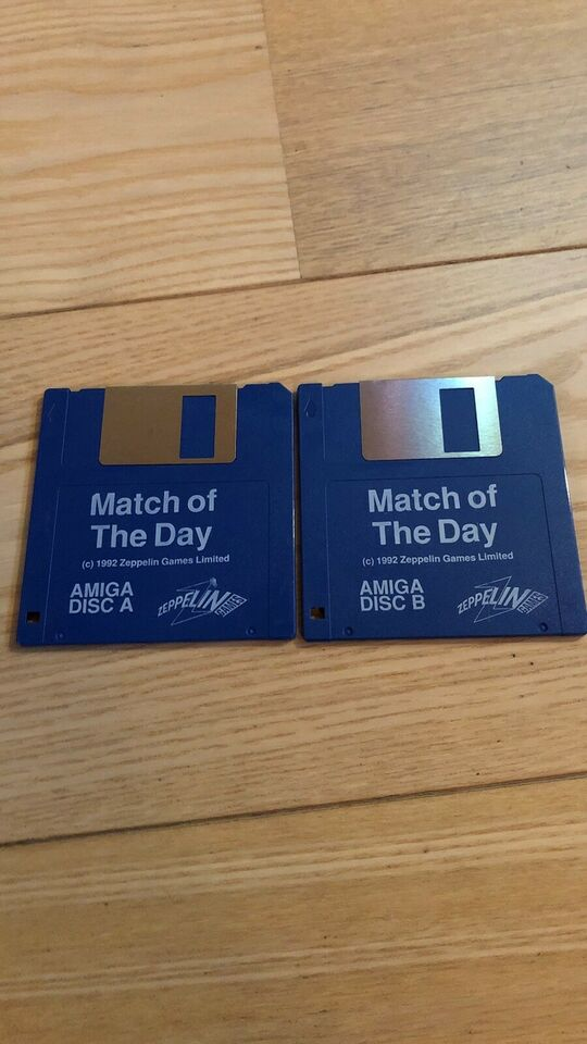 Match of the. Day, Amiga spil