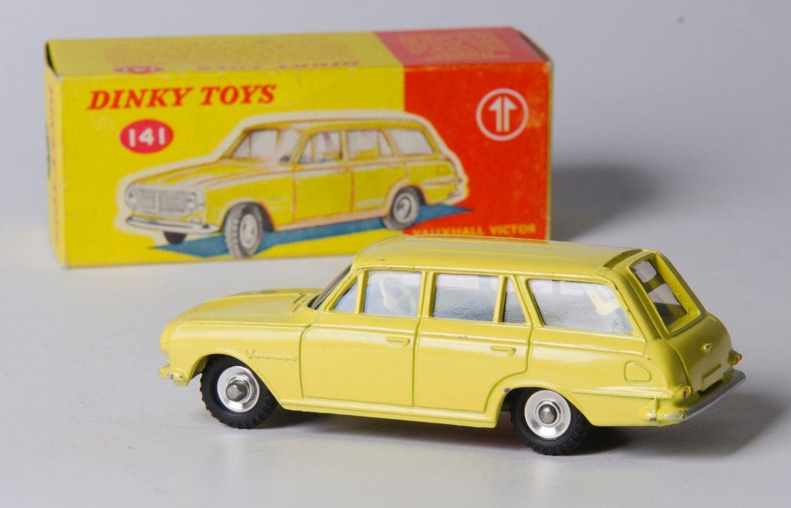 gran descuento Dinky 141 Vauxhall Victor Estate Coche. Coche. Coche. Amarillo. vnmint & boxed. década De 1960 problema  lo último