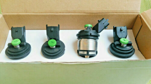 4 Injectors Gas LPG Cap Green Landi Renzo Regenerated Warranty 1