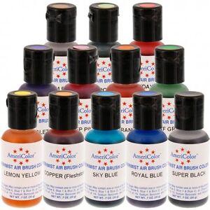 Americolor AmeriMist Airbrush Color (0.65 OZ) - Cake Decorating ...