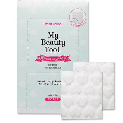 [Etude House] My Beauty Tool Embossed Cotton Puff 150p
