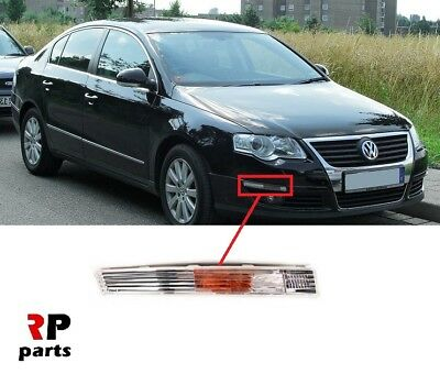 VW Passat B6 2006-2010 Front Bumper Turn Signal Housing Moulding Trim RIGHT