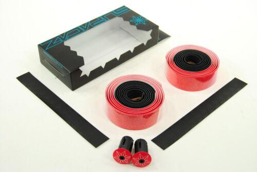 Supacaz Super Sticky Kush Road Bike Handlebar Tape Red//Black