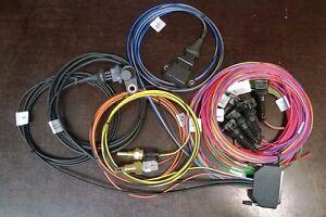 Megasquirt Wiring Harness 4 cylinder w. Hall, IAT, CLT, TPS Sensors ...