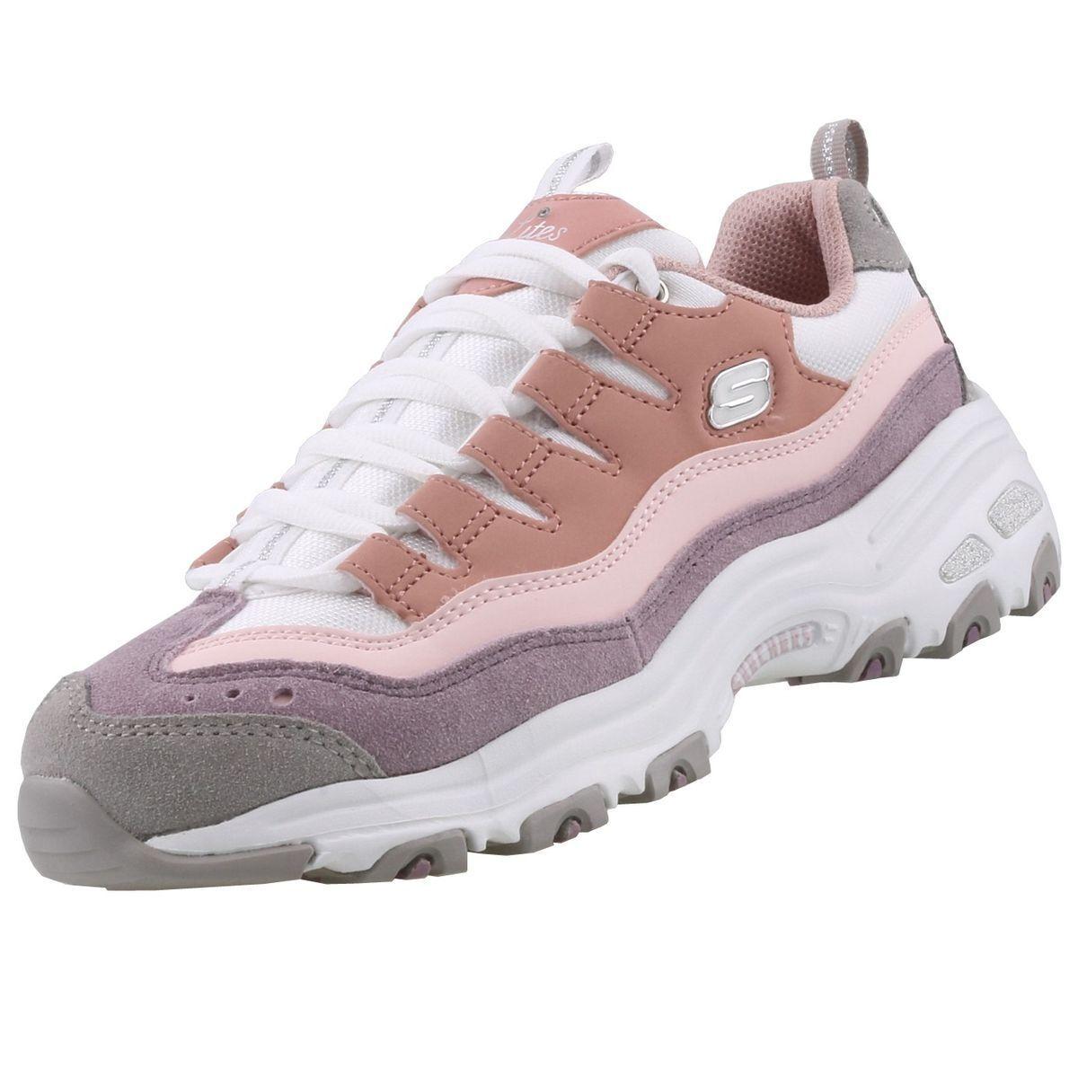 NUEVO Skechers Zapatos Mujer zapatillas D´Lites de cordones Calzado deportivo