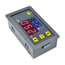 12V Timing Delay Relay Module Thermostat Digital LED Dual Display 0-999 hours
