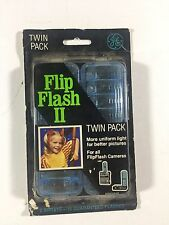 1 Unopened GE FLIP FLASH II Twin Pack - 16 flashes