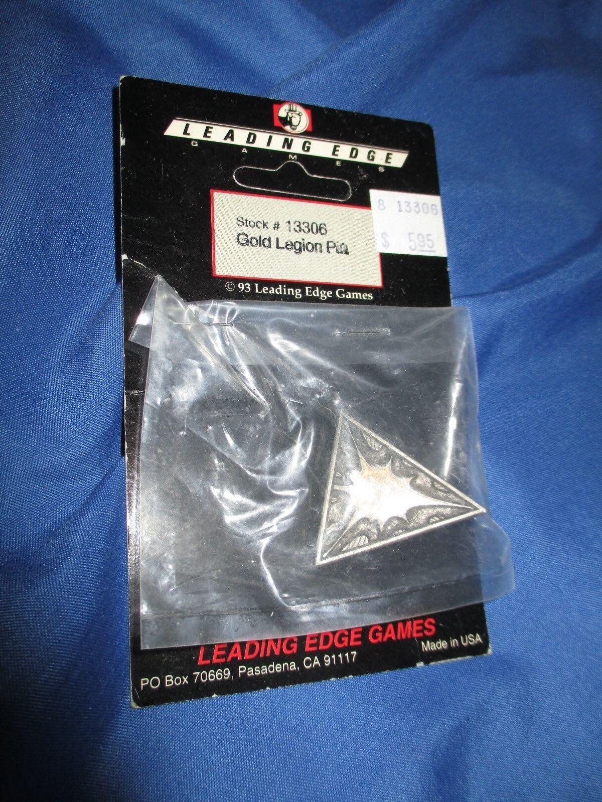 LEADING EDGE GAMES 1993 Red Legion Pin
