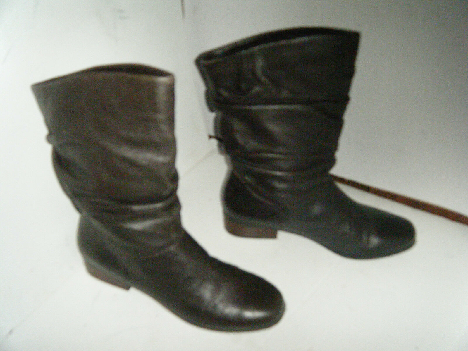 ARTURO CHIANG  Fashion Brown Woman Boots Size 9.5 B Leather