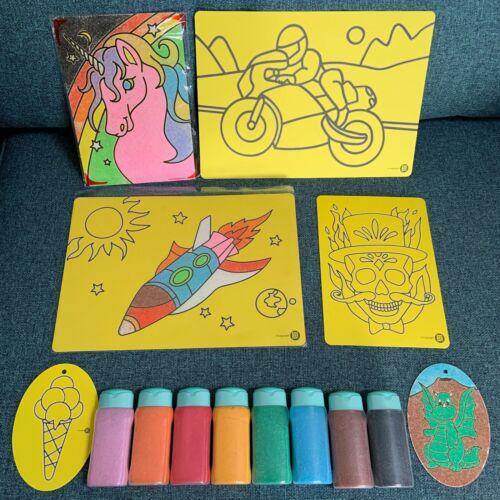 Sand Art Craft Activity Pack-de kids BEE HAPPY