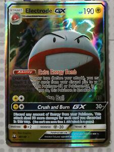 Pokemon-card-Electrode-GX-48-168-HOLO-FULL-ART-Mint-Celestial-Storm-PROXY-CARD